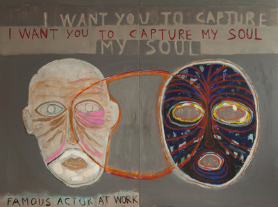 Benoit Delhomme - My Hollywood - I want you to capture my soul, 260 x 195 cm, Acrylics on canvas